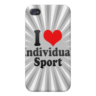I love Individual Sport iPhone 4/4S Case