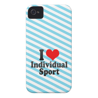 I love Individual Sport iPhone 4 Covers