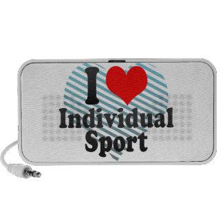 I love Individual Sport iPhone Speaker