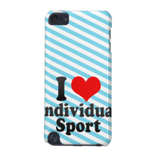 I love Individual Sport iPod Touch 5G Case