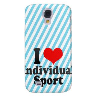 I love Individual Sport Samsung Galaxy S4 Case