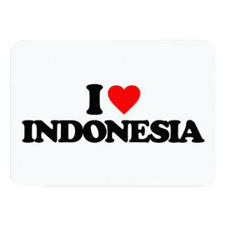 I LOVE INDONESIA CARD