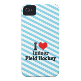 I love Indoor Field Hockey iPhone 4 Cases