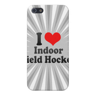 I love Indoor Field Hockey iPhone 5 Covers