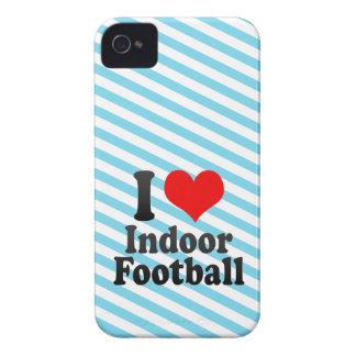 I love Indoor Football iPhone 4 Covers