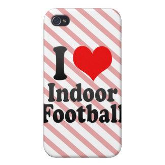 I love Indoor Football iPhone 4 Cases