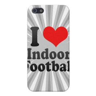 I love Indoor Football iPhone 5 Cover