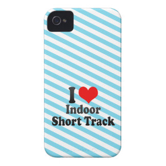 I love Indoor Short Track iPhone 4 Covers