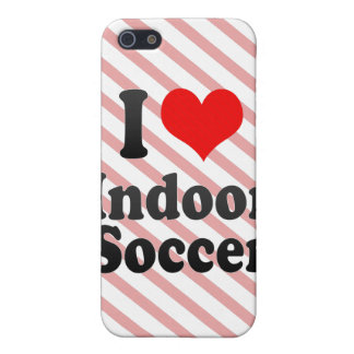 I love Indoor Soccer iPhone 5 Cover