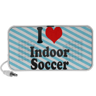 I love Indoor Soccer Speaker