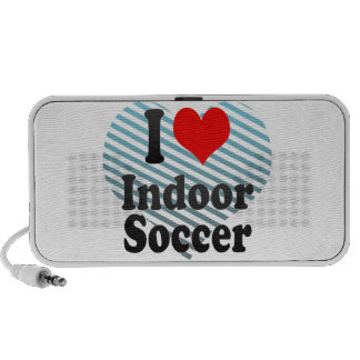 I love Indoor Soccer Travel Speakers