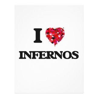 I Love Infernos 21.5 Cm X 28 Cm Flyer