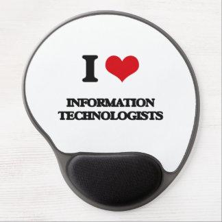 I love Information Technologists Gel Mouse Mats