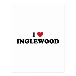 I Love Inglewood California Postcard