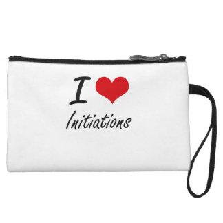 I Love Initiations Wristlet Purses