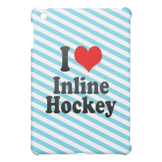 I love Inline Hockey iPad Mini Cover