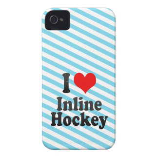 I love Inline Hockey iPhone 4 Case