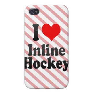 I love Inline Hockey iPhone 4 Covers