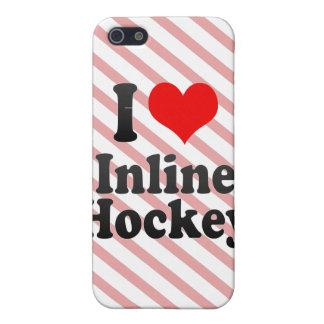 I love Inline Hockey iPhone 5 Cases