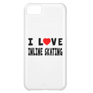 I Love Inline Skating iPhone 5C Covers