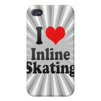 I love Inline Skating iPhone 4/4S Case