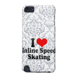 I love Inline Speed Skating iPod Touch (5th Generation) Cases