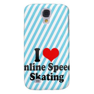 I love Inline Speed Skating Galaxy S4 Case