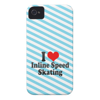 I love Inline Speed Skating iPhone 4 Cover