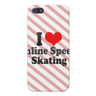 I love Inline Speed Skating iPhone 5 Cases