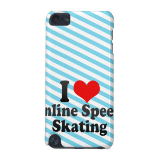 I love Inline Speed Skating iPod Touch 5G Cover