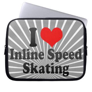 I love Inline Speed Skating Laptop Sleeves
