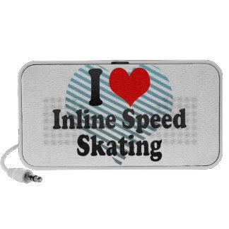 I love Inline Speed Skating Travel Speakers