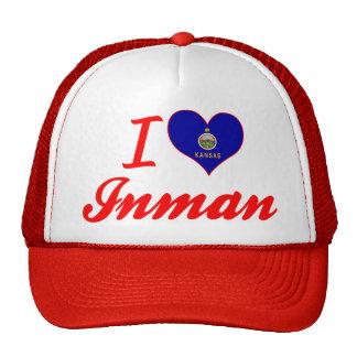 I Love Inman, Kansas Hats