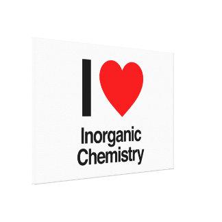 i love inorganic chemistry canvas print