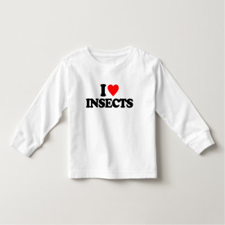 I LOVE INSECTS TSHIRT