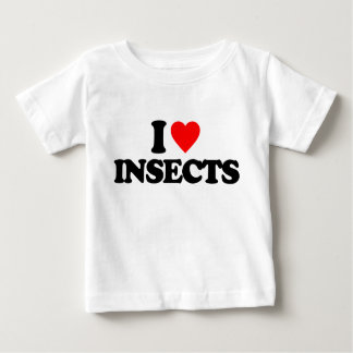 I LOVE INSECTS T SHIRTS