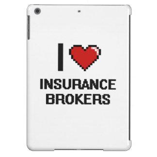 I love Insurance Brokers iPad Air Cases