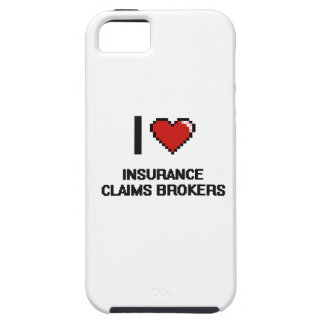 I love Insurance Claims Brokers iPhone 5 Cover
