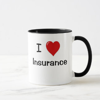 I Love Insurance - I Heart Insurance Mug
