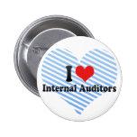 I Love Internal Auditors Button