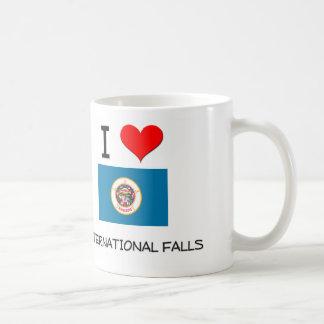 I Love International Falls Minnesota Coffee Mug