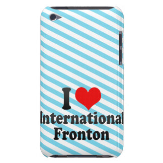 I love International Fronton Barely There iPod Case