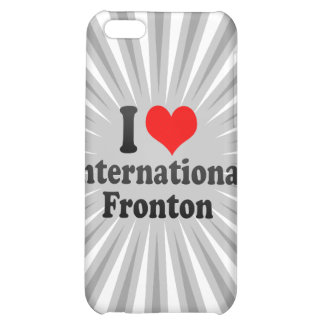 I love International Fronton Cover For iPhone 5C