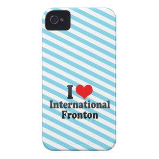 I love International Fronton iPhone 4 Case-Mate Case