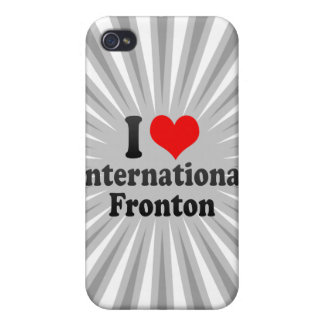 I love International Fronton iPhone 4 Cover