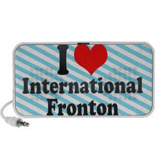 I love International Fronton Mini Speakers