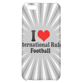 I love International Rules Football iPhone 5C Cases