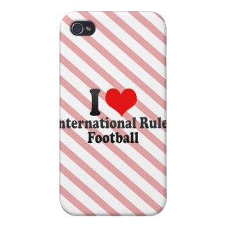 I love International Rules Football iPhone 4/4S Covers