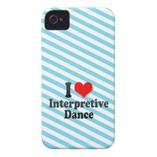 I love Interpretive Dance iPhone 4 Cover