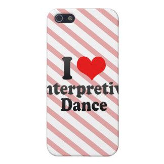 I love Interpretive Dance iPhone 5 Cover